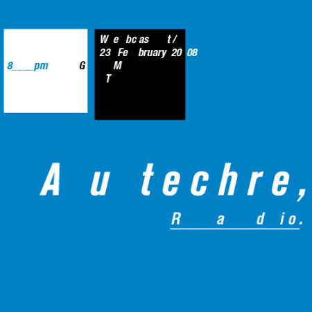 Autechre Webcast header 23 February 2008